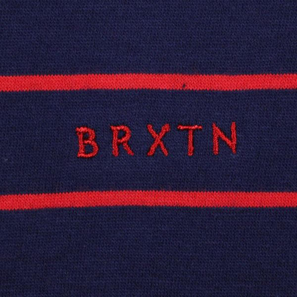 Brixton Abram Tank Top Navy Red