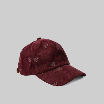 BRONZE 56K ALLOVER EMBROIDERED CAP MAROON