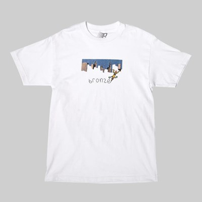 BRONZE 56K PENCIL SS T-SHIRT WHITE