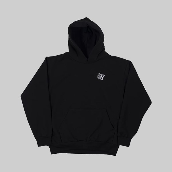 BRONZE 56K B LOGO SNOW HOODY BLACK