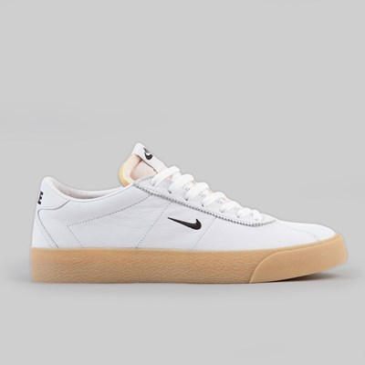NIKE SB BRUIN ISO 'ORANGE LABEL' WHITE BLACK SAFETY ORANGE