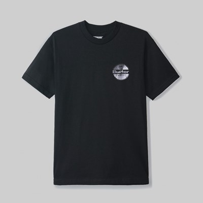 BUTTER GOODS BLADE LOGO SS T-SHIRT BLACK