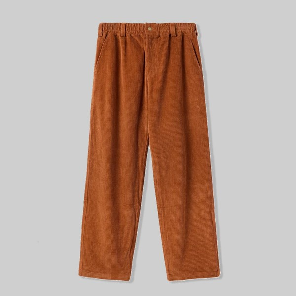 BUTTER GOODS HIGH WALE CORDUROY PANTS RUST