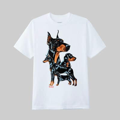 BUTTER GOODS K9 SS T-SHIRT WHITE