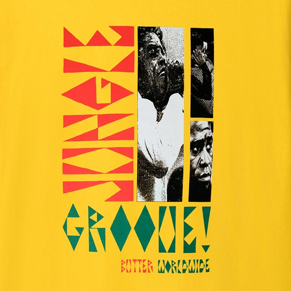 BUTTER GOODS JUNGLE GROOVE SS TEE YELLOW