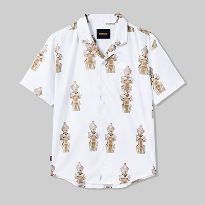 BUTTER GOODS SCULPTURE SHIRT WHITE