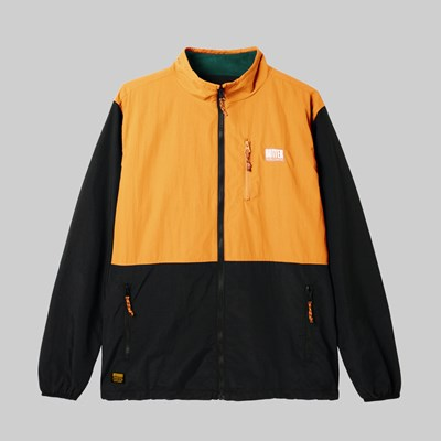 BUTTER GOODS SEARCH JACKET BLACK PEACH