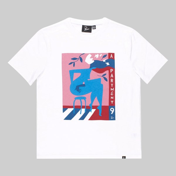 BY PARRA APARTMENT NINE SS T-SHIRT WHITE