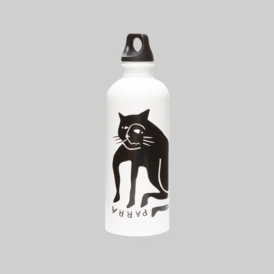 BY PARRA CAT SIGG BOTTLE WHITE