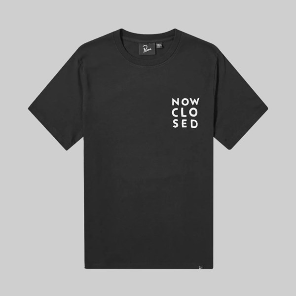 BY PARRA CHANNEL ZERO SS T-SHIRT BLACK