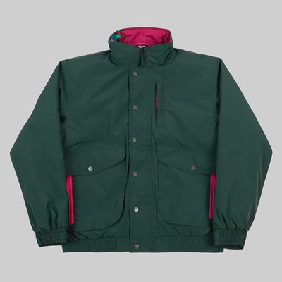 BY PARRA EYES OPEN JACKET PINE GREEN
