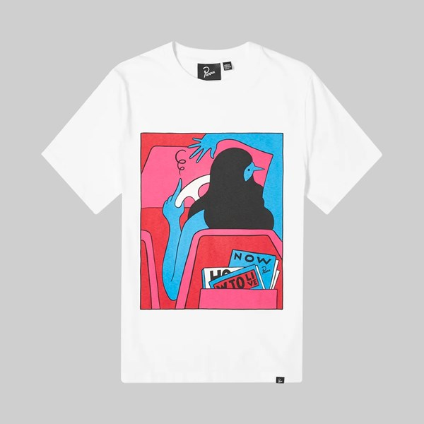 BY PARRA HOW TO LIVE NOW SS T-SHIRT WHITE
