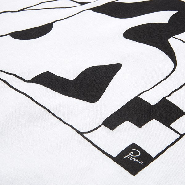 BY PARRA LOCKDOWN SS T-SHIRT WHITE