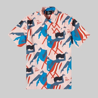 BY PARRA MADAME BEACH SHIRT PINK