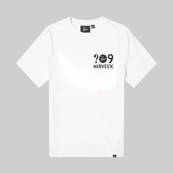 BY PARRA NERVEUX SS T-SHIRT WHITE
