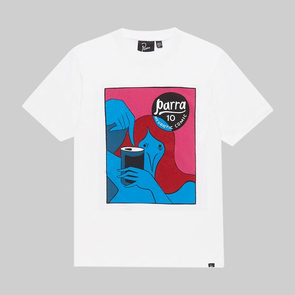 BY PARRA NEUROTIC SS T-SHIRT WHITE