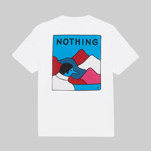 BY PARRA NOTHING SS T-SHIRT WHITE