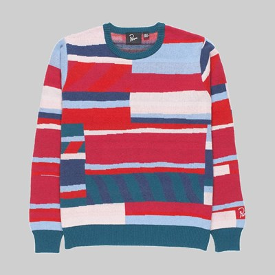 BY PARRA PREMIUM STRIPES KNITTED PULLOVER MULTI