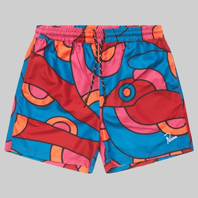 BY PARRA SERPENT PATTERN SHORTS MULTI