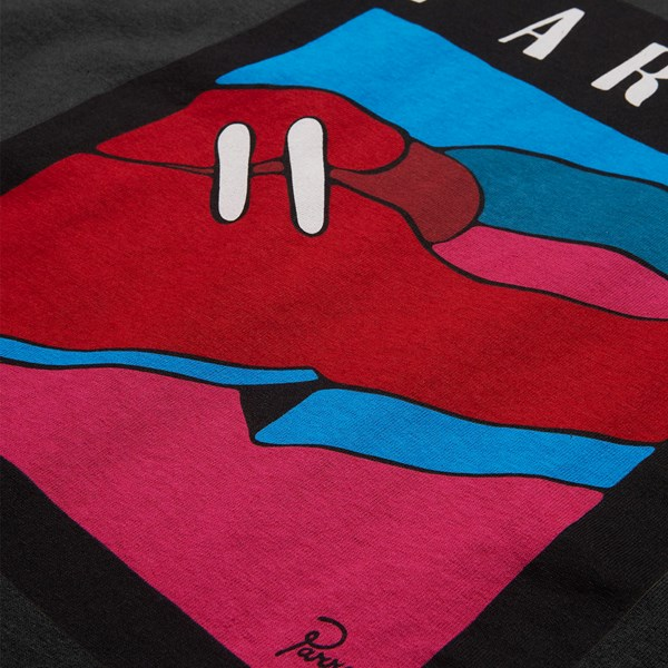 BY PARRA SHOE REPAIR SS T-SHIRT ASPHALT GREY