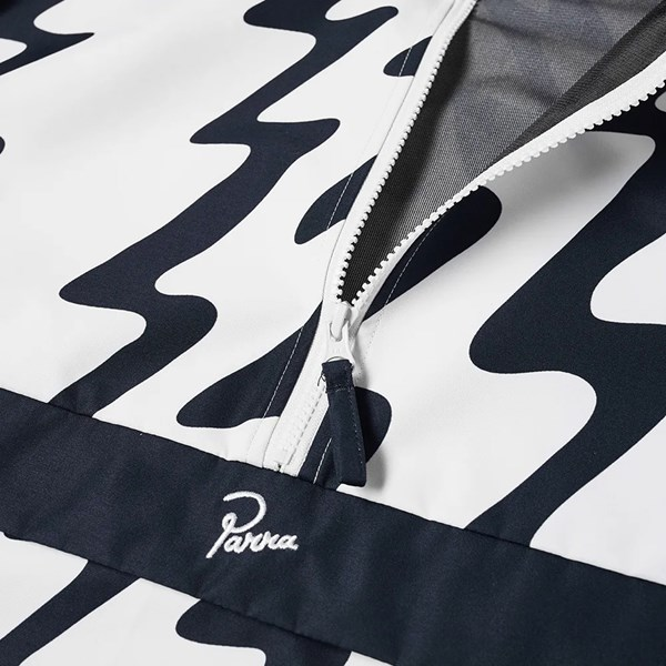 BY PARRA STATIC NYLON JACKET WHITE