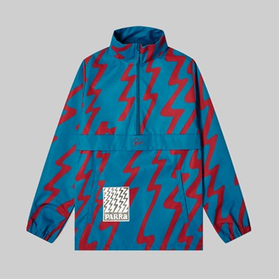 BY PARRA STATIC NYLON JACKET GREEN