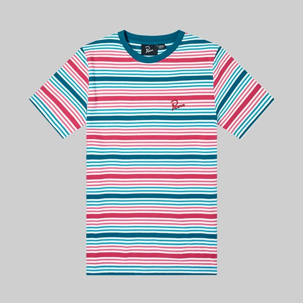 BY PARRA STRIPED PREMIUM T-SHIRT MULTI