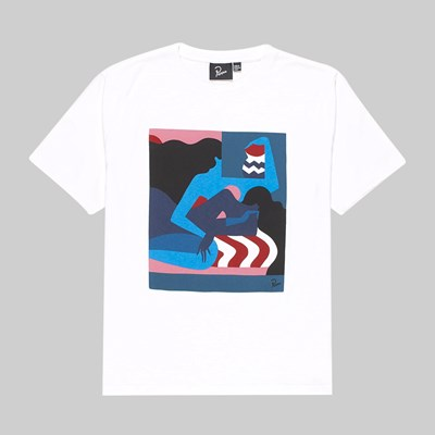 BY PARRA THE COMFORTING ROOM SS T-SHIRT WHITE