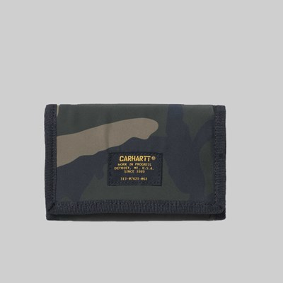 CARHARTT ASHTON WALLET CAMO LAUREL