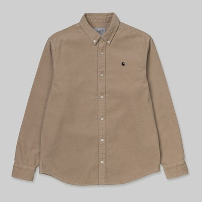 CARHARTT WIP MADISON CORD LS SHIRT WALL