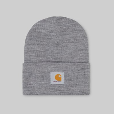 CARHARTT WIP ACRYLIC WATCH HAT BEANIE GREY HEATHER