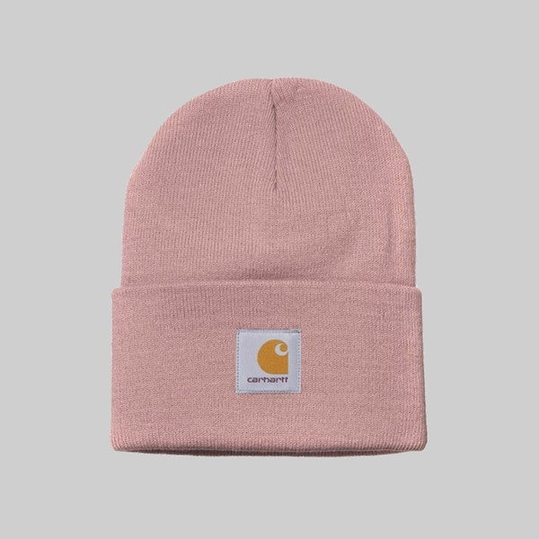 CARHARTT WIP ACRYLIC WATCH HAT BLUSH