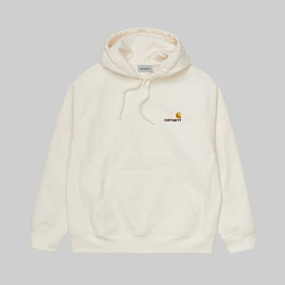 CARHARTT WIP AMERICAN SCRIPT HOODED SWEAT WAX