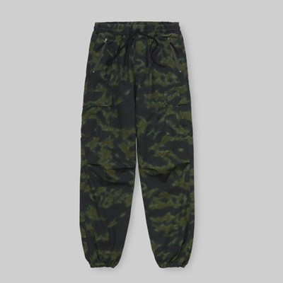 CARHARTT WIP CARGO JOGGER CAMO BLUR RINSED