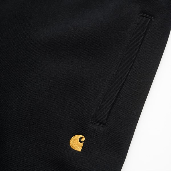 CARHARTT WIP CHASE SWEAT PANT BLACK GOLD