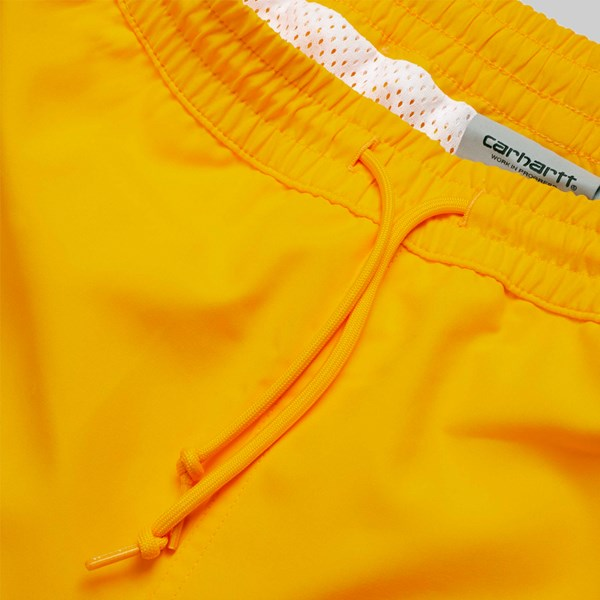 CARHARTT CHASE SWIM SHORTS SUNFLOWER GOLD