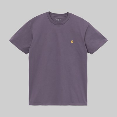 CARHARTT WIP SS CHASE T-SHIRT PROVENCE GOLD