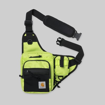 CARHARTT WIP DELTA SHOULDER BAG LIME