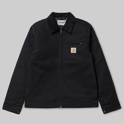 CARHARTT WIP DETROIT JACKET BLACK RIGID