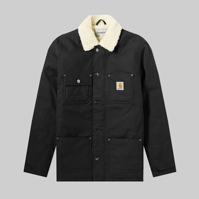 CARHARTT WIP FAIRMOUNT COAT BLACK RIGID