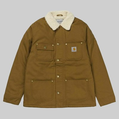 CARHARTT WIP FAIRMOUNT COAT HAMILTON BROWN