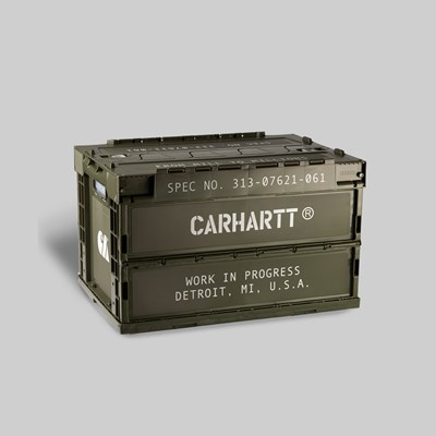 CARHARTT WIP FOLDABLE STORAGE CONTAINER CYPRESS