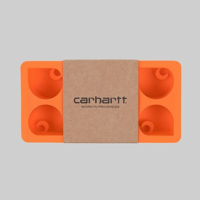 CARHARTT WIP C LOGO ICE CUBE TRAY CARHARTT ORANGE
