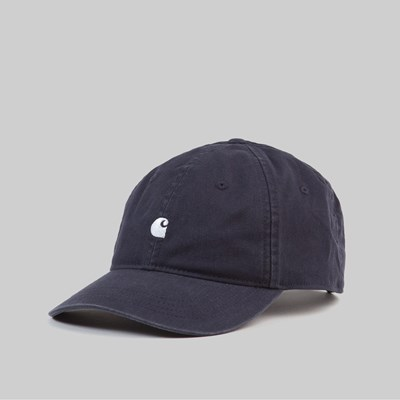 CARHARTT WIP MADISON LOGO CAP DARK NAVY WAX