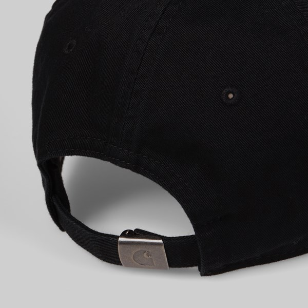 CARHARTT WIP MADISON LOGO CAP BLACK WAX