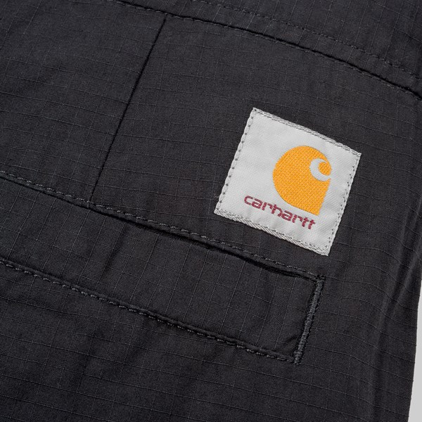 CARHARTT WIP MARSHALL JOGGER PANT BLACK RINSED