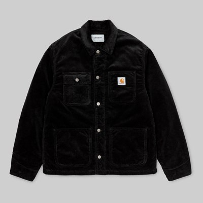 CARHARTT WIP MICHIGAN COAT BLACK RINSED