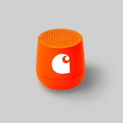 CARHARTT WIP X MINO SPEAKER ALUMINIUM NEON ORANGE
