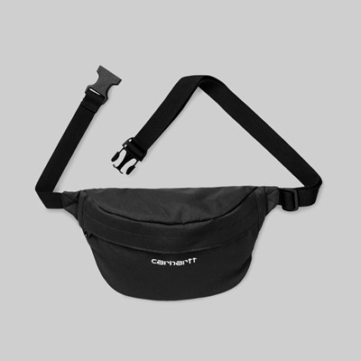 CARHARTT PAYTON HIP BAG BLACK WHITE