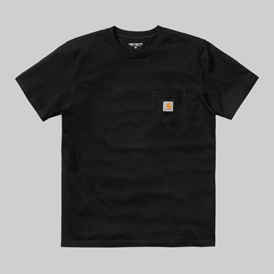 CARHARTT WIP SS POCKET T-SHIRT BLACK
